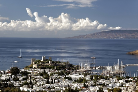 bodrum is a medieval castle with turkey Stock Photo - 10939651