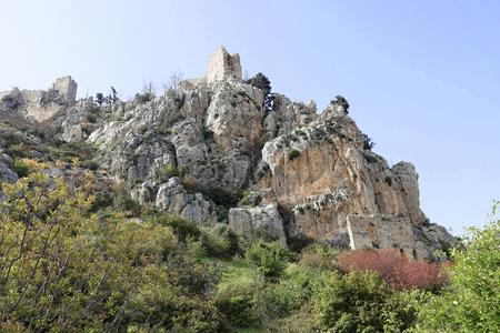 hilarion: Fortress St. Hilarion in Girne, Northern Cyprus