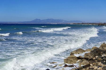 Sea in Lefke - Northern Cyprus