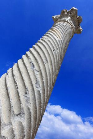 Old Sauele the historic Salamis - Northern Cyprus