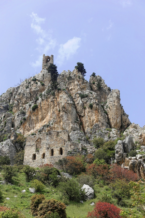 Fortress in St. Hilarion in Girne, Northern Cyprus