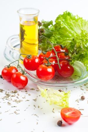 carnes: Cocina vegetariana, verduras y hierbas frescas