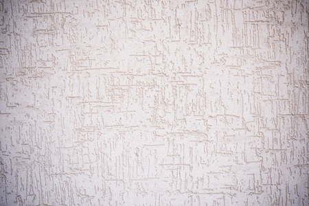 wall design: Texture of old white colored cracked plaster abstract background Stock Photo