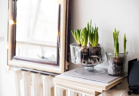 minimalist room decor Standard-Bild