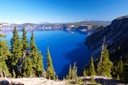 crater lake: Crater Lake National Park, Oregon, United States