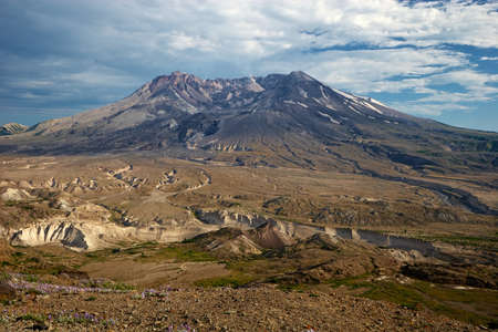 Mount St  Helens National Volcanic Monument, Washington, USA