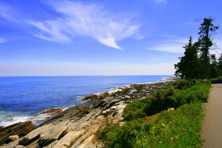cloud formation: Natural Cloud Formation - Dove of Peace - at  Maine Coast