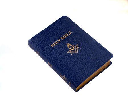 masonic: Blue Leather Masonic Bible