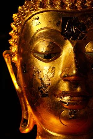 praye: View of buddha statue, taken in Chiengmai province  Thailand