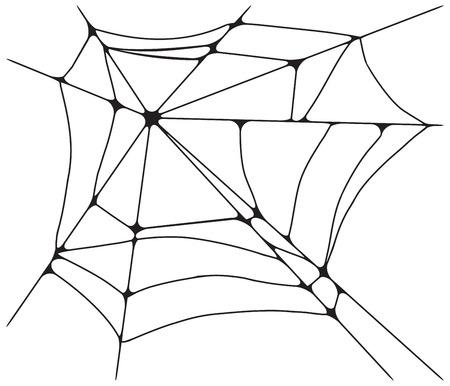spidery: spider web monochrome.