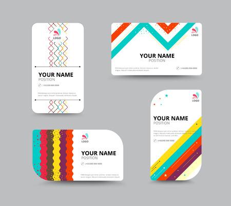 buisness card layout