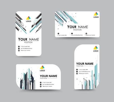 Business-Grußkarte Vorlage Design. einzuführen Karte sind Beispieltext Position. Vektor-Illustration Design. Standard-Bild - 42937157