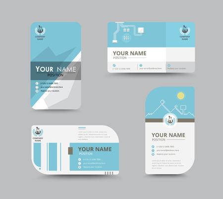 hojas membretadas: Saludo del asunto diseño de la plantilla de la tarjeta. introducir la tarjeta incluye la posición del texto de la muestra. diseño de ilustración vectorial.
