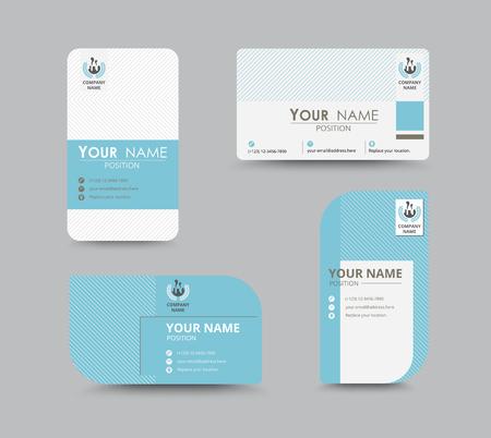 Business-Grußkarte Vorlage Design. einzuführen Karte sind Beispieltext Position. Vektor-Illustration Design. Standard-Bild - 45395614