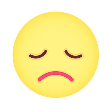 grumpy: Flat grumpy emoticon.