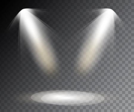Spotlights Szene Lichteffekte. Standard-Bild - 49531358