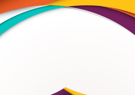Moderne Material Design-Hintergrund. Vektor-Illustration. Standard-Bild - 52883358
