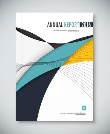 Corporate Annual Report Template Design. Corporate Business ...