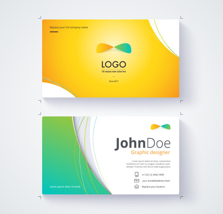Business card template include sample logo and text template business card template include sample logo and text template design stock vector 71258640 friedricerecipe Images