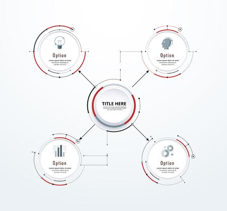 include: Infographic diagram template design simple design. include icon design. vector illustration.