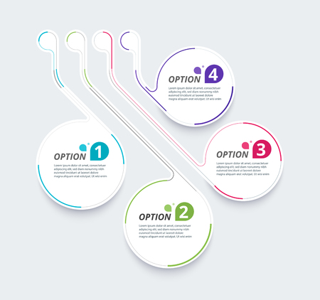 Infographic diagram template design simple design. include icon design. vector illustration.