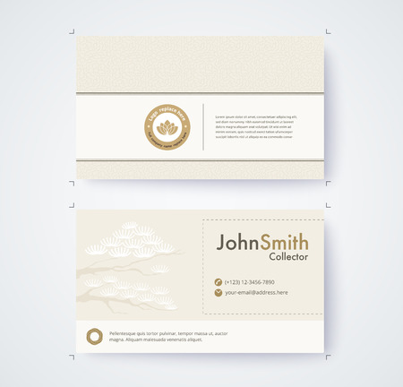 Business card template for commercial design on white background 93072579 business card template for commercial design on white background colourmoves