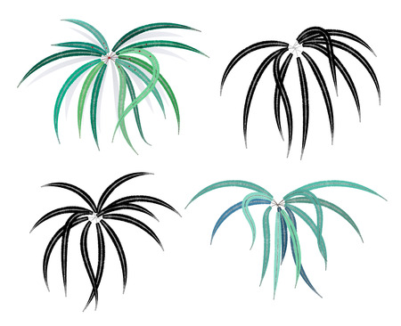 Leaf Illustration Standard-Bild - 93981152