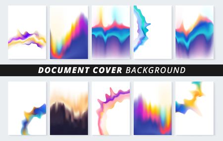 Document cover background for business print copy.