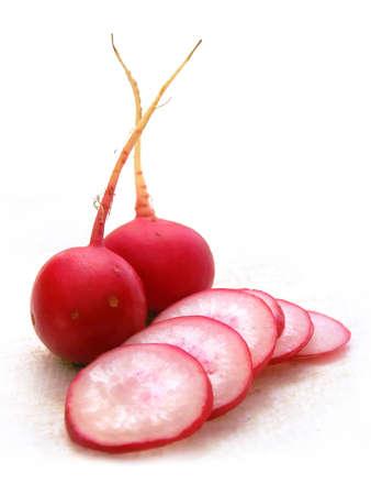 Fresh red radish vegetable cut vitamin diet Stock Photo - 1631408