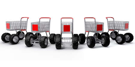 Shopping cart shop commerce turbo speed group