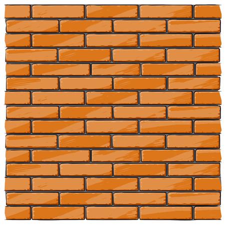 bak stenen muur huis achtergrond - vector afbeelding