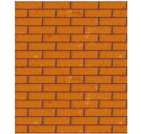Seamless brick pattern texture. Vector illustration Vector