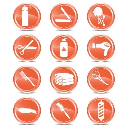 hairspray: Sal�n de 12 Iconos Web