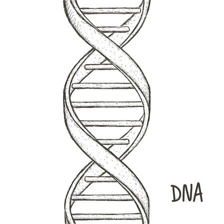 Gold Dna. Dna symbol. Dna helix symbol. Gene icon.