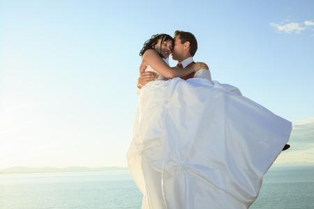 A wedding couple Stock Photo