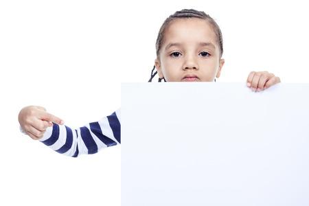 A Little ragazzo dell'afroamericano, isolato su sfondo bianco Archivio Fotografico - 36715644