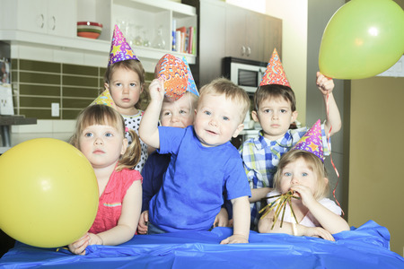 kids birthday party: A Birthday Party only with the kids.