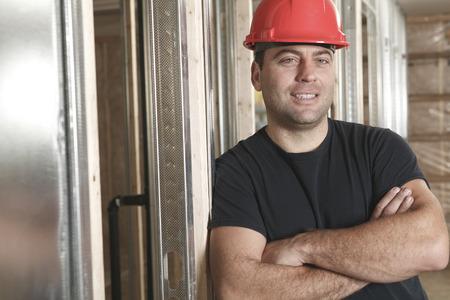 machinerie: A construction portrait of a men working