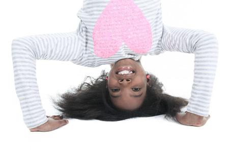 columbian: Portrait of a young columbian little girl.