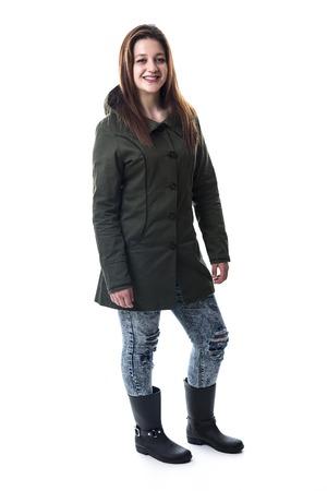 An Urban girl in studio posing with attitude