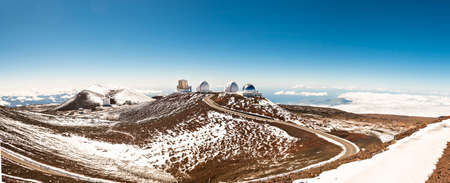 The Hawaii Big Island Mauna Kea volcano observatory