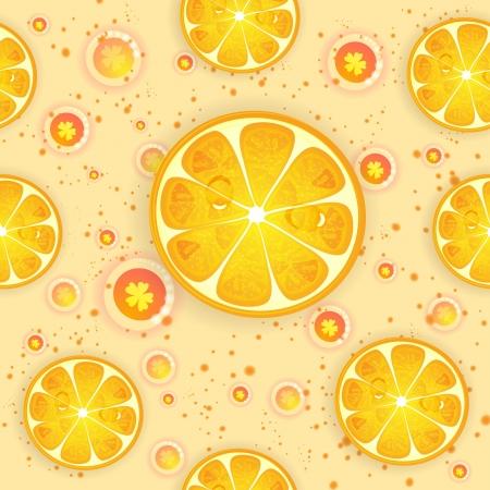 Citrus pattern Illustration
