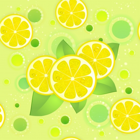 Citrus fruit background Illustration