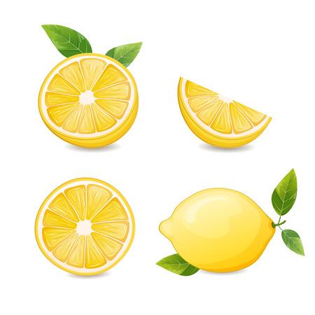 limones: Limones y rodajas de lim�n.