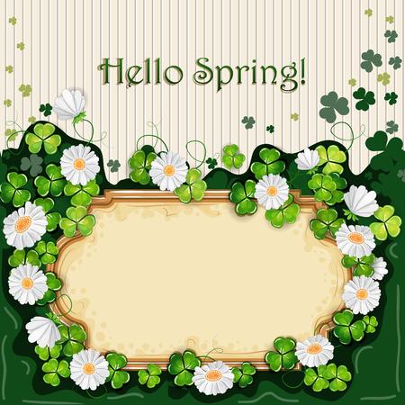 Spring illustration. Illustration