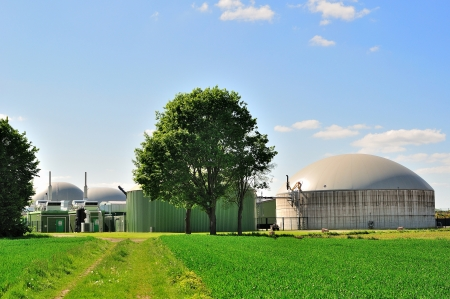 anaerobic: Bio fuel plant