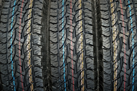 Winter car tire  photo