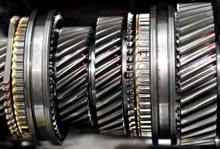 gearbox: Car gear box sprocket  Stock Photo