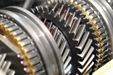 sprocket: Car gear box sprocket  Stock Photo