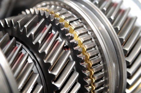 Car gear box sprocket  Standard-Bild
